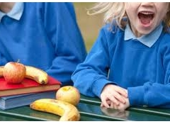 Public support for healthy food in schools