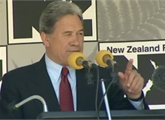 NZ First 10% and set to hold balance of power